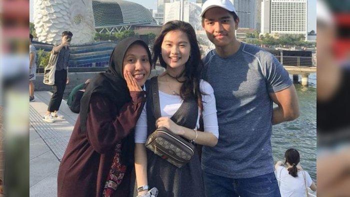 Nadya Arifta, Felicia Tissue dan Kaesang Pangarep saat liburan bersama