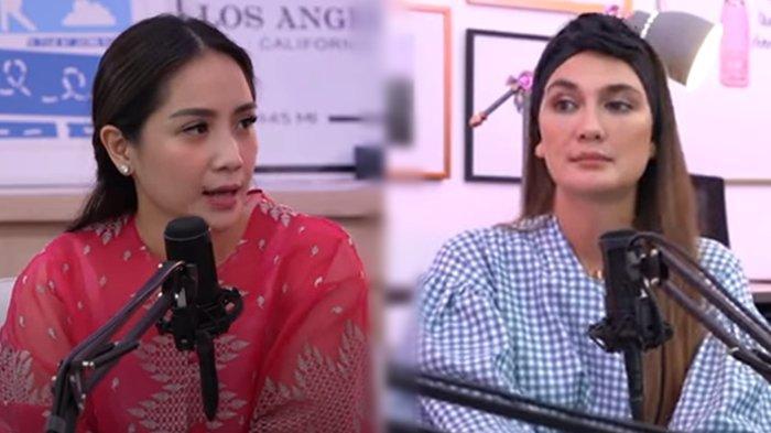 Di Depan Luna Maya, Nagita Slavina Ungkap Alasan Tak Pakai Nama Belakang Raffi Ahmad