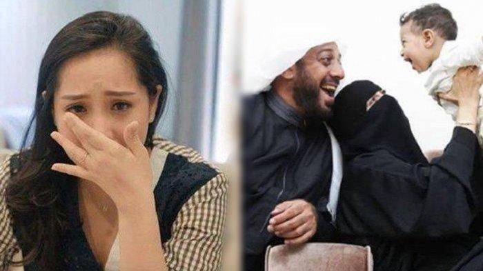 Nagita Slavina Menangis Ingat Istri Syekh Ali Jaber Sedang Hamil, Minta Raffi Ahmad Tepati Janji