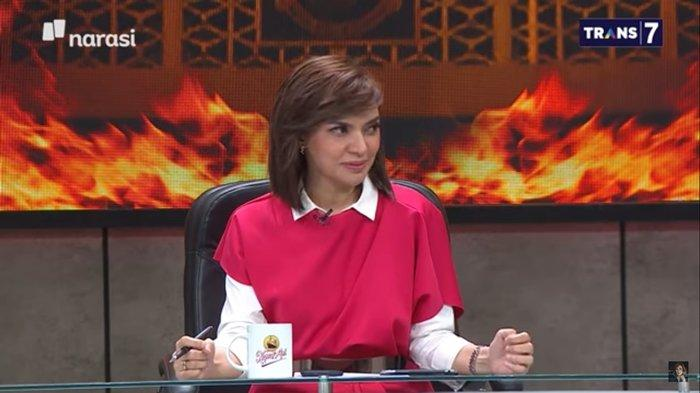 Najwa Shihab dalam acara Mata Najwa Trans7, Rabu (26/08/20).