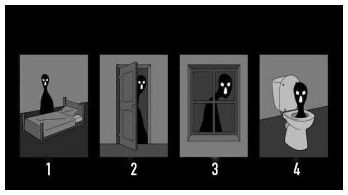 Tes Kepribadian: Pilih Bayangan Hitam di Gambar Ini, Jawabannya Ungkap Ketakutan Tersembunyimu