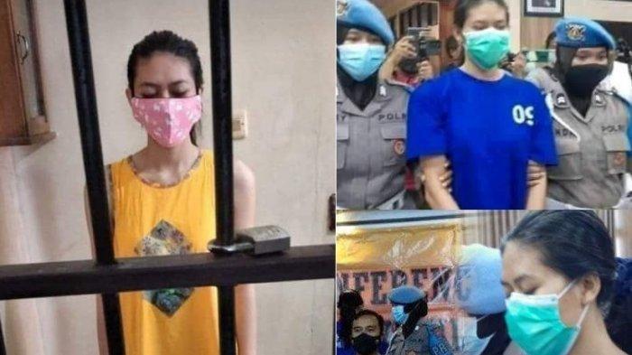 HEBOH, Tersangka Pengirim Sate Beracun Pakai Daster Kuning di Sel, Polisi Beri Jawaban