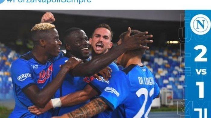 Hasil Liga Italia, Napoli Hancurkan Juventus dengan Skor 2-1, Sempat Tertinggal Lewat Gol Morata