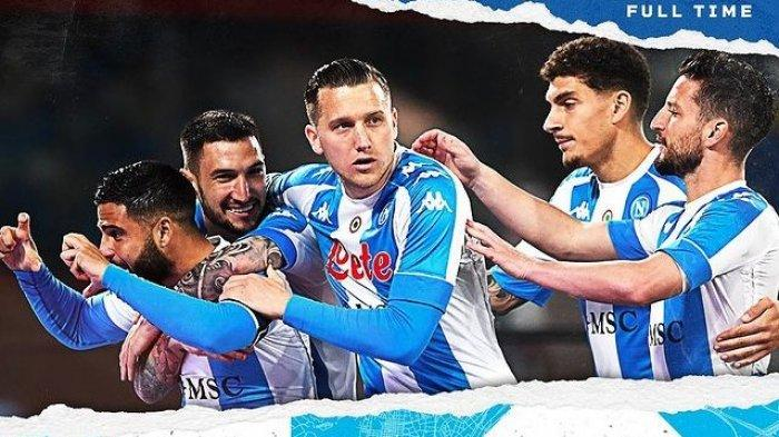 Napoli Mengamuk Tercipta 7 Gol, Lorenzo Insigne Sumbang 2, Bantai Lazio 5-2, Hasil Liga Italia