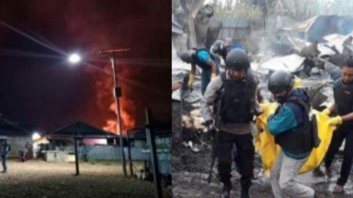 Nasib Hendrik Simatupang Tewas Terbakar di Ruko Miliknya, 13 Rumah dan 19 Kios Dibakar Massa Dogiyai