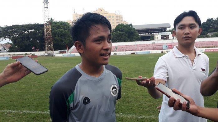 Natanael Siringoringo pemain Sulut United.
