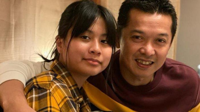 Natarina Alika Hidayat dan Taufik Hidayat; foto diunggah di Instagram pada 3 Agustus 2021