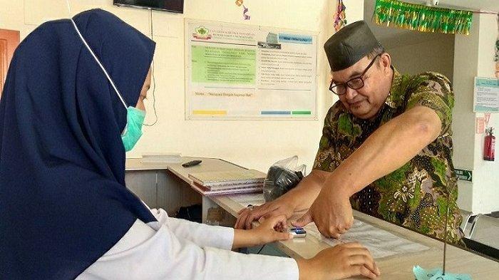 Rumah Sakit Dukung Implementasi Finger Print