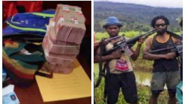 Neson Murib, Pemasok Senjata ke KKB Papua Ditangkap Satgas Nemangkawi, Bawa Uang Rp 370 Juta