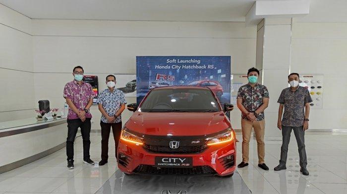 New Honda City Hatchback RS Mengaspal di Sulut, Ini Fitur dan Teknologi Canggih di Dalamnya