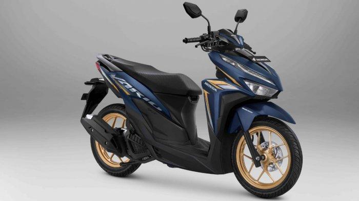 New Honda Vario 125 Tampil dengan Warna dan Strip Baru, Makin Sporti dan Elegan