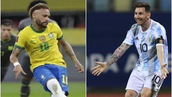 MASIH BERLANGSUNG Argentina vs Brasil Final Copa America, Temannya Messi Bongkar Gawang Tuan Rumah