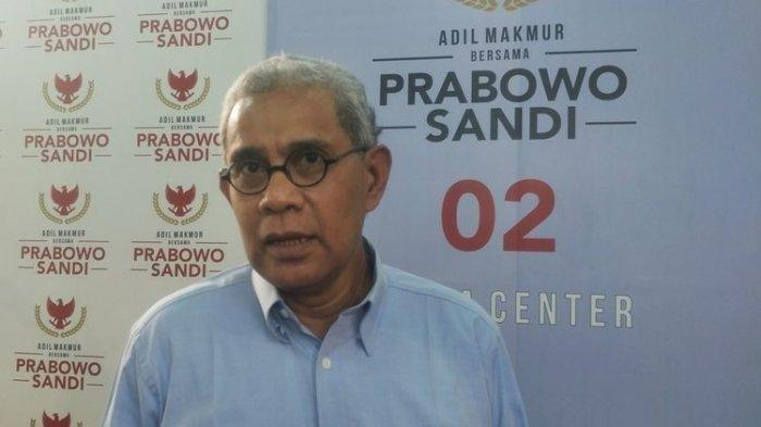 Pengajuan Kasasi Prabowo-Sandi Ditolak Hakim MA, Begini Respon Kuasa Hukum