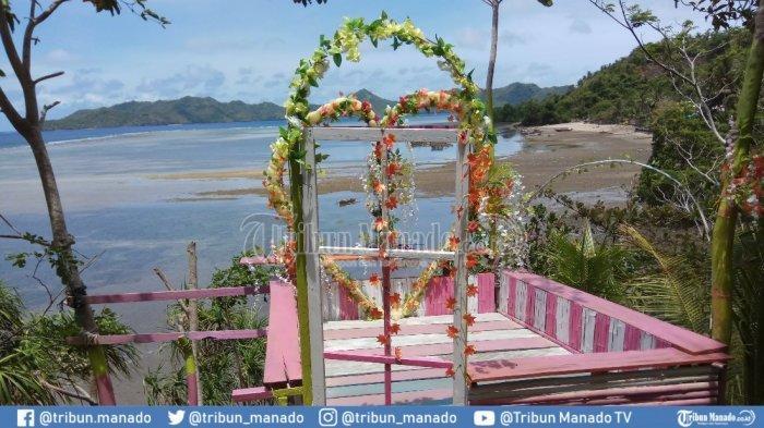 Nikmati Spot Foto Cantik di Secret View Pondok Cinta Balirangen Sitaro
