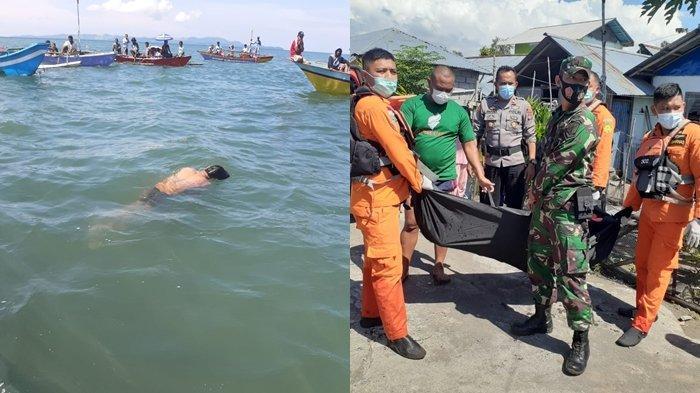 Penemuan Mayat Mengapung di Laut Minahasa Utara, Noldy Diduga Berenang Usai Tegak Miras