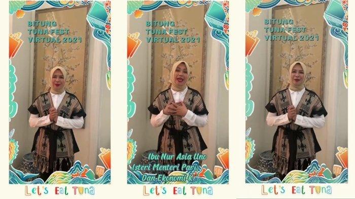 Tuna Fest 2021, Istri Menparekraf Nur Asia Uno Ajak Masyarakat Beli Produk UMKM Bitung