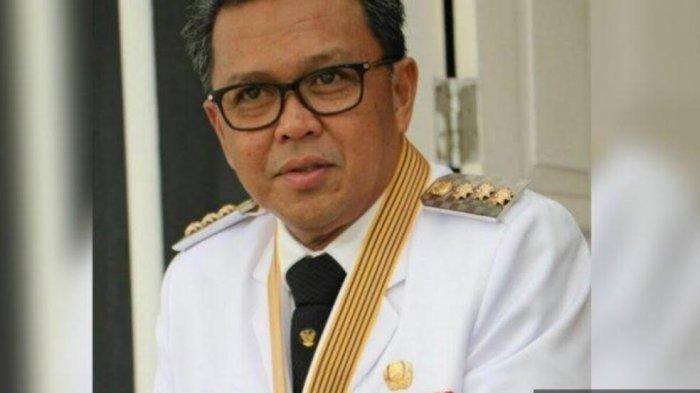 Nurdin Abdullah, Gubernur Sulawesi Selatan ditangkap KPK, Sabtu (27/02/21).