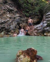 Objek wisata Pemandian Air Panas Desa Leilem