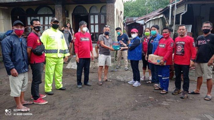 OD-SK Kucur Rp 1 Miliar Bantuan Korban Bencana Gempa Bumi Sulawesi Barat