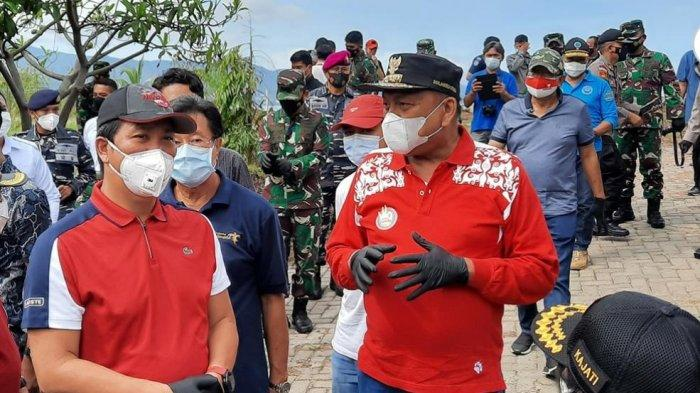 OD-SK Pimpin Gerakan Massal Bersih Sampah Kota Manado
