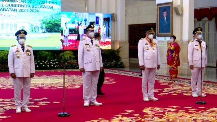 Jokowi Lantik ODSK Sebagai Gubernur dan Wagub Sulut 2021-2024
