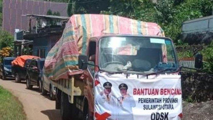 ODSK Salurkan Bantuan untuk Korban Bencana di Sangihe