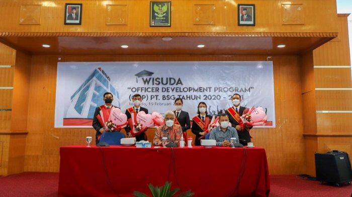 Bank SulutGo Wisuda 33 Lulusan Officer Development Program, Para Calon Pemimpin Torang pe Bank