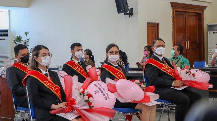Officer Development Program (ODP) tahun 2020-2021 Bank SulutGo meluluskan 33 wisudawan