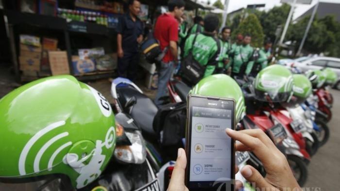 Imbauan Polri Untuk Pengemudi Ojek Online, Tetap Jaga Jarak Fisik