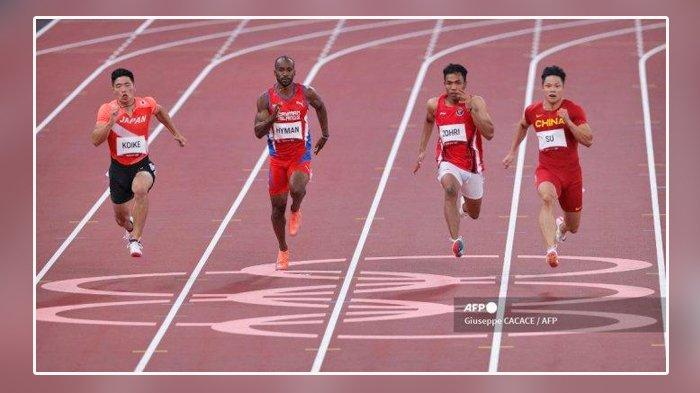 Lalu Muhammad Zohri Finish di Urutan Kelima, Berikut Hasil Lengkap Atletik Olimpiade Tokyo 2020