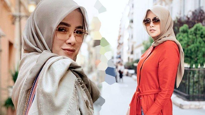 Olla Ramlan Tampil Santun Pakai Hijab Lilit Sambil Tenteng Tas Rp 2 Miliar, Jadi Sorotan!
