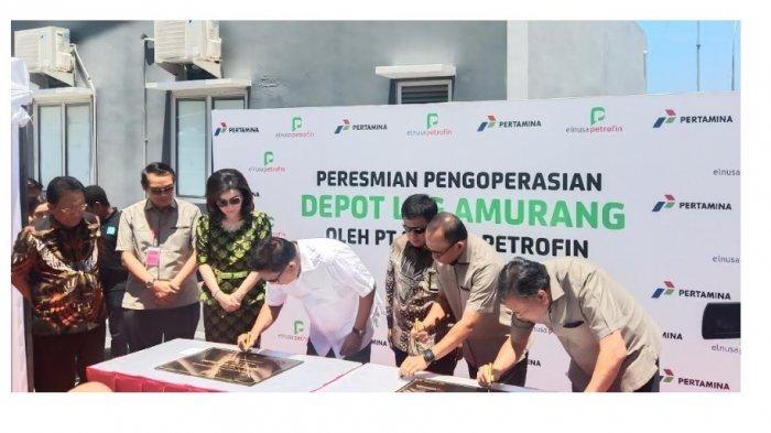 Gubernur Olly Dondokambey Resmikan Operasional Depot Elpiji Amurang yang Dikelola PT Elnusa Petrofin