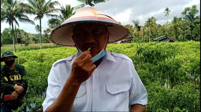 Olly Dondokambey Antar Sulut Nilai Tukar Petani Tertinggi se-Indonesia