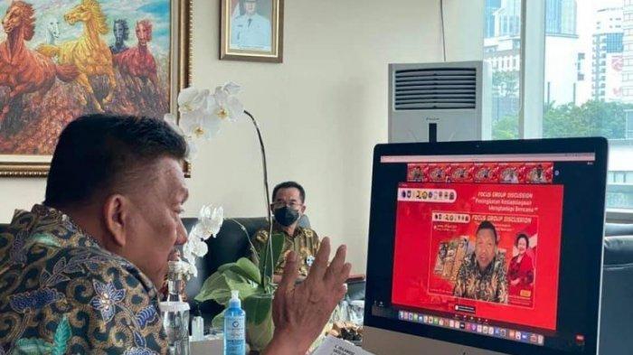 Olly Dondokambey FGD Bersama Megawati Soekarnoputri, Bahas Soal Ini