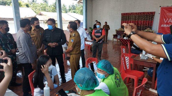Gubernur Sulut Olly Dondokambey Pantau Vaksinasi Covid-19 di Bitung