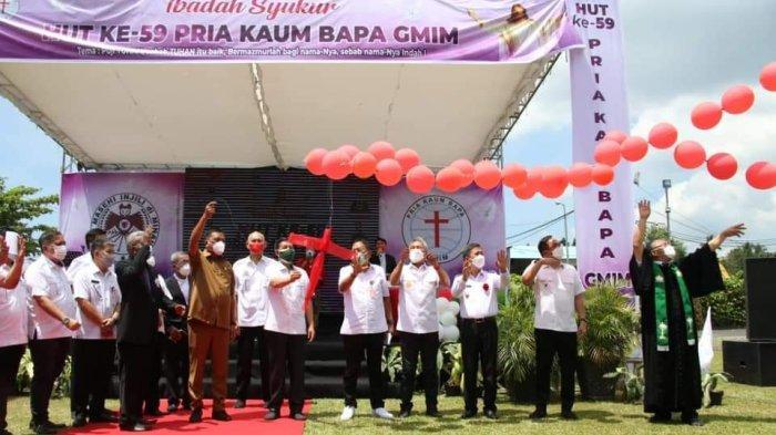 Gubernur Sulut Olly Dondokambey Apresiasi Peran P/KB GMIM di HUT Ke-59