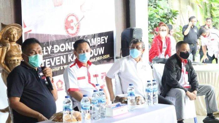 Olly Dondokambey Kampanye Perdana di Tomohon, Ungkap Program Asuransi 100.000 Petani