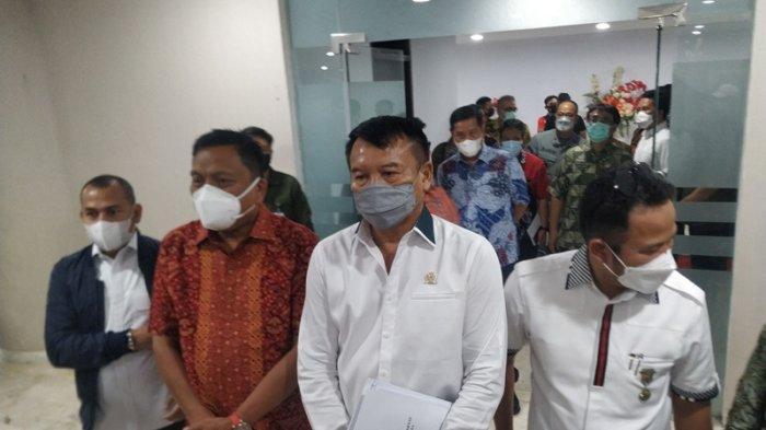 Olly Dondokambey Ketemu TB Hasanuddin Ketua PDIP Jabar, KunkerBahas RUU Landas Kontinen