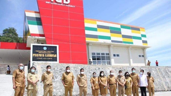 Gubernur Olly Dondokambey Soft Launching RSJ Ratumbuysang