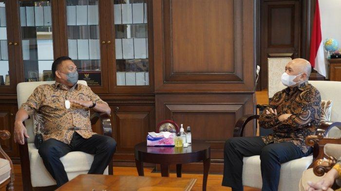 Gubernur Sulut Olly Dondokambey Temui Menteri Koperasi UKM, Bahas Pilot Project Koperasi Nelayan