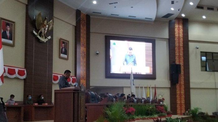 Gubernur Olly Sampaikan Laporan Pertanggungjawaban 2020, Beber Optimisme Pembangunan di 2021