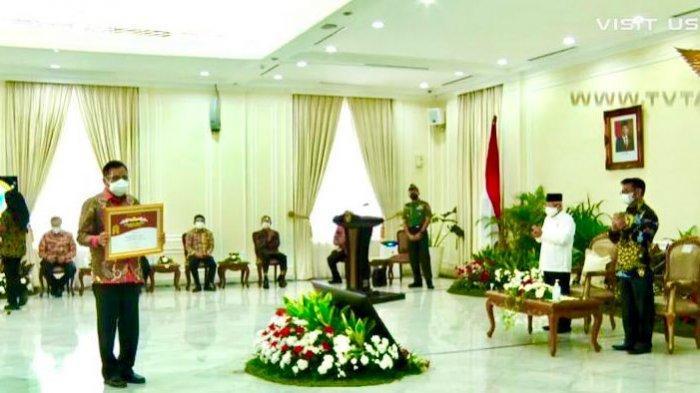 Gubernur Sulut Olly Dondokambey Meraih Penghargaan Abdi Tani 2021, Nilai Ekspor Pertanian Tertinggi