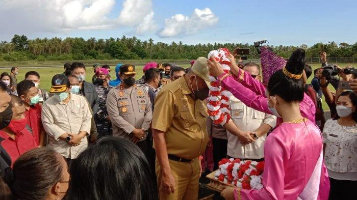 Gubernur Olly Dondokambey Bersama Forkompimda Patroli di Pulau Terluar Sulut