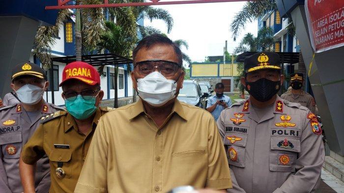 Gubernur Olly Tinjau RS Darurat Covid-19 di Rusunawa Bitung