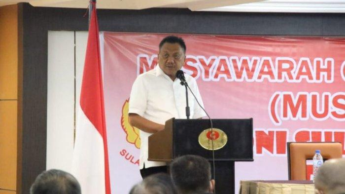 Steven Terpilih Aklamasi Ketua Umum KONI Sulut, Olly Sebut Fokus Hadapi PON Papua