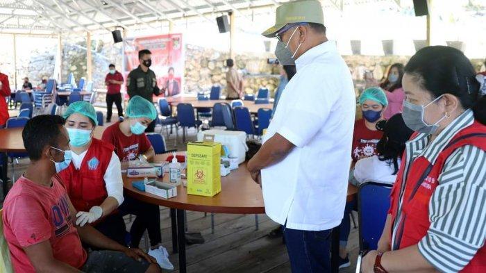 Olly Dondokambey Sasar Vaksinasi di Objek Wisata dan Pasar, Menolak Vaksin tak Bisa Masuk dan Jualan