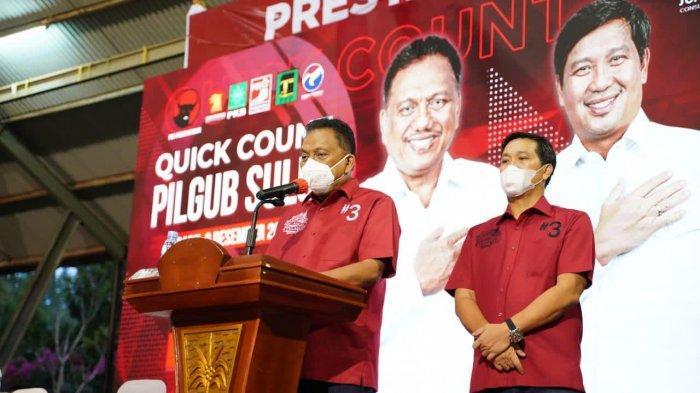 Olly Dondokambey dan PDI Perjuangan Nyaris Sapu Bersih Semua Pilkada di Sulut, Ini Hasil Sementara