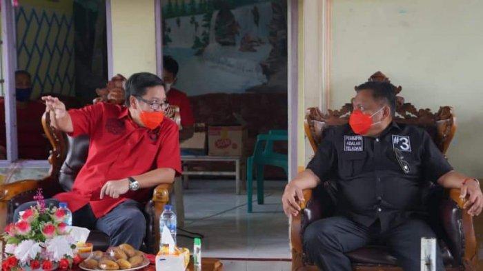 Olly Dondokambey-Steven Kandouw Anggap Nusa Utara Serambi Depan Sulut, Target Menang 75 Persen