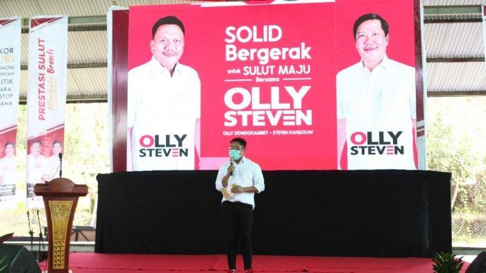 Olly Dondokambey -Steven Kandouw pecahkan rekor MURI, dukungan politik non stop terlama