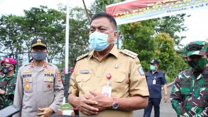 PPKM Sulut Tak Seketat Daerah Lain, Gubernur Sulut: Apa Masyarakat Berhenti Berkegiatan?